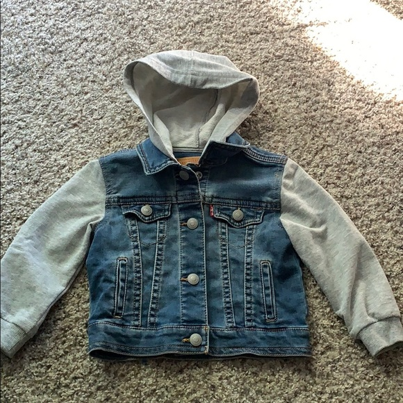 Levi's Other - Levi's toddler jean jacket with sweatshirt sleeves